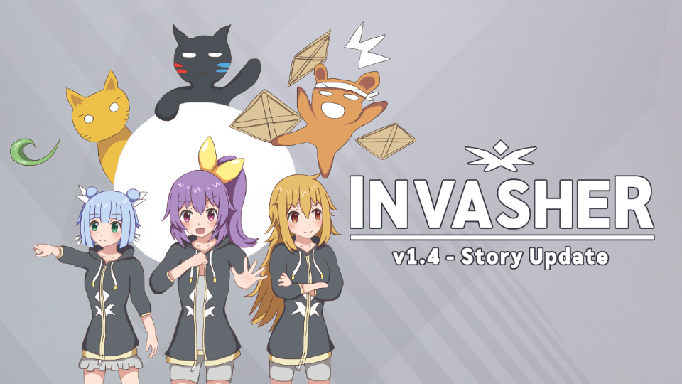 Invasher v1.4 Story Update